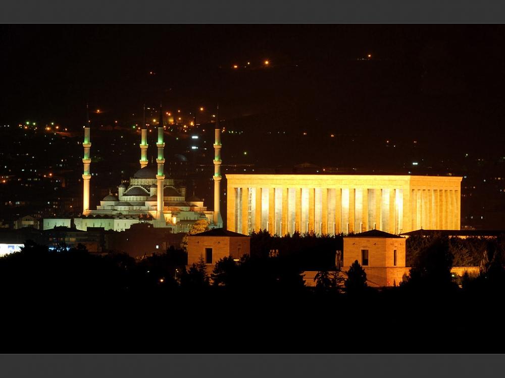 Ankara'nın Gece Manzaraları galerisi resim 1