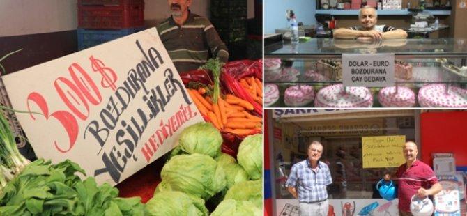 Erdoğan'ın Döviz bozdurun çağrısına esnaftan tam destek