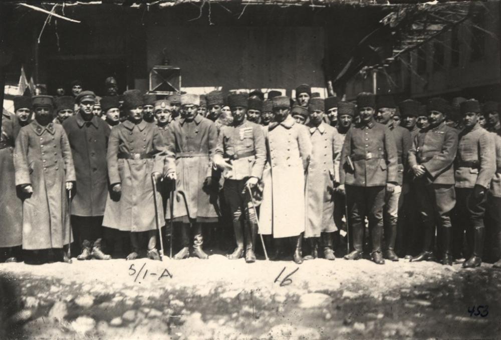 Genelkurmay arşivinden Atatürk'ün az bilinen fotoğrafları galerisi resim 1