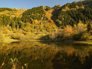 Karçal Dağları'nda sonbahar güzelliği