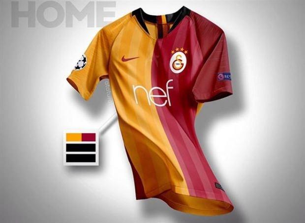 Galatasaray'ın yeni forması sosyal medyaya sızdı galerisi resim 1