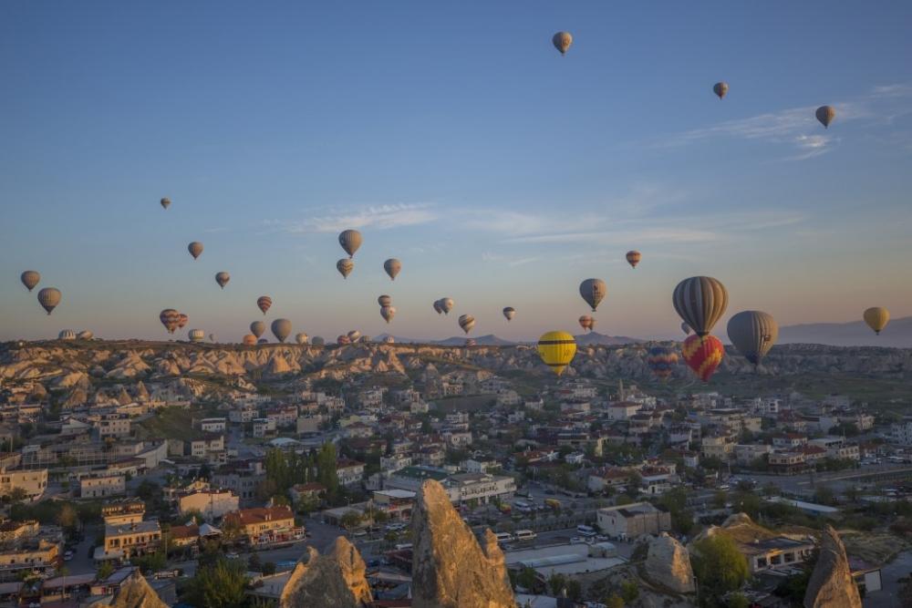 Turistlerin gözdesi sıcak hava balonları galerisi resim 1