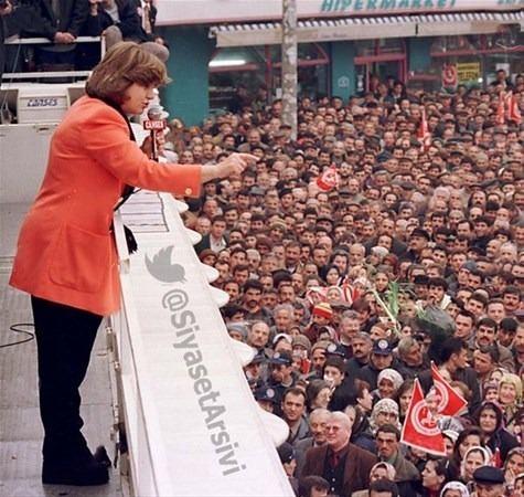 Arşiv fotoğraflarıyla Türkiye siyaseti galerisi resim 27