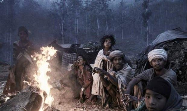 Raute dünyanın en ilkel kabilesi: Kabilede bir öldüğü zaman... galerisi resim 6