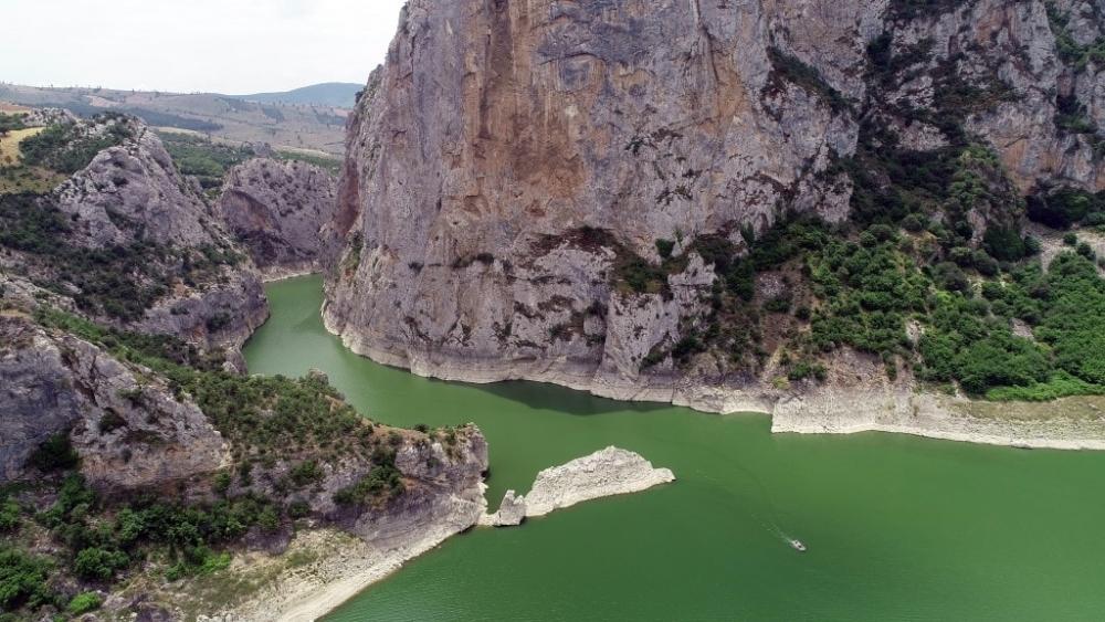 Doğa harikası Kaplancık Kanyonu ziyaretçilerini bekliyor galerisi resim 1