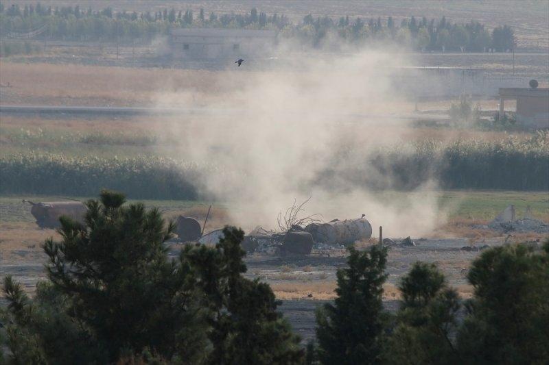 Barış Pınarı Harekatı'ndan ilk görüntüler galerisi resim 1