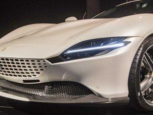 Ferrari'nin yeni modeli görücüye çıktı: Roma 620 beygir gücüyle ger