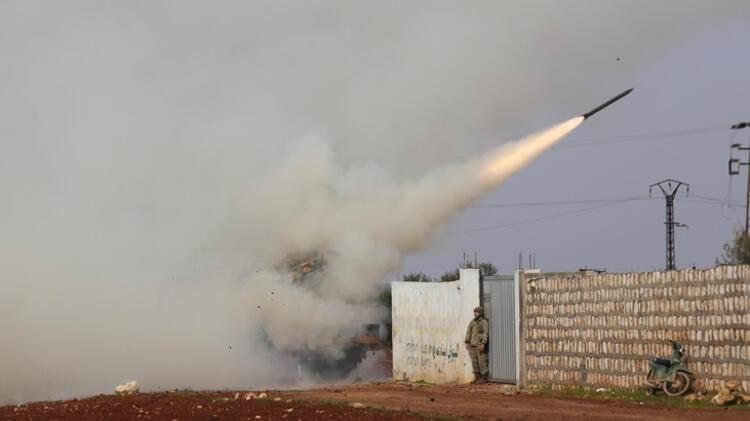 Türk ordusu İdlib'te böyle vurdu galerisi resim 1