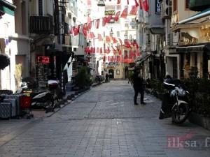 Boş sokaklar ve meydanlar