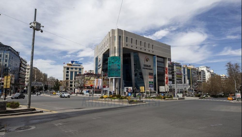 Ankara sokakları boş kaldı galerisi resim 6