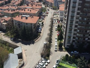 Başkent sokakları boş görüntülere sahne oldu