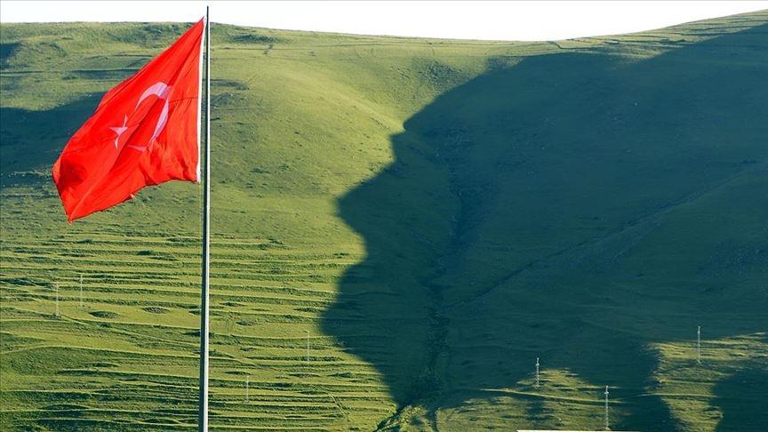 Ardahan'da 'Atatürk silüeti' galerisi resim 1