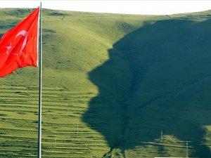 Ardahan'da 'Atatürk silüeti'