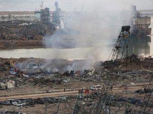 Lübnan Beyrut limanında korkunç patlama: Olay yeri fotoğrafları