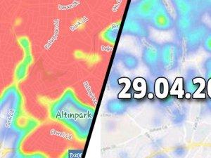 Ankara korona haritası, Renk Kırmızıya döndü!