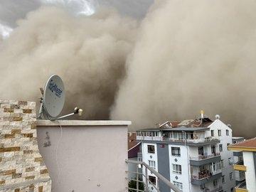 Ankara'da kum fırtınası galerisi resim 1