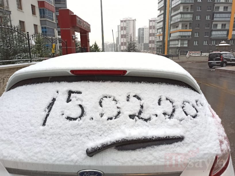 Ankara'da kar yağışı etkili oldu galerisi resim 3