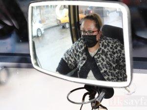 Ankara'nın tek kadın dolmuş şoförü