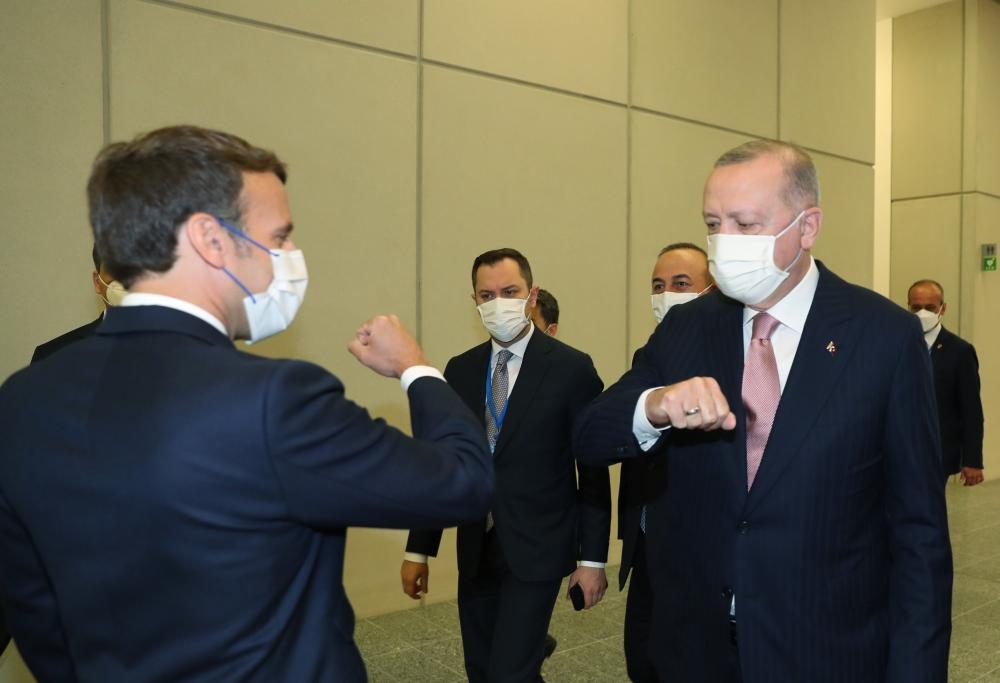 Başkan Erdoğan, NATO Karargahında liderlerle bir araya geldi galerisi resim 5