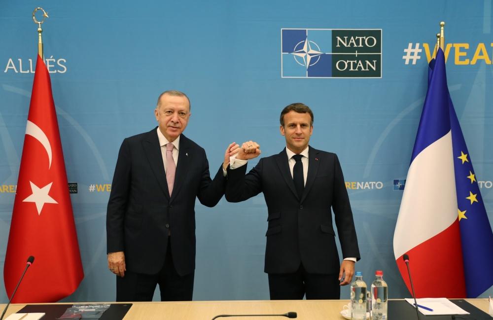 Başkan Erdoğan, NATO Karargahında liderlerle bir araya geldi galerisi resim 6