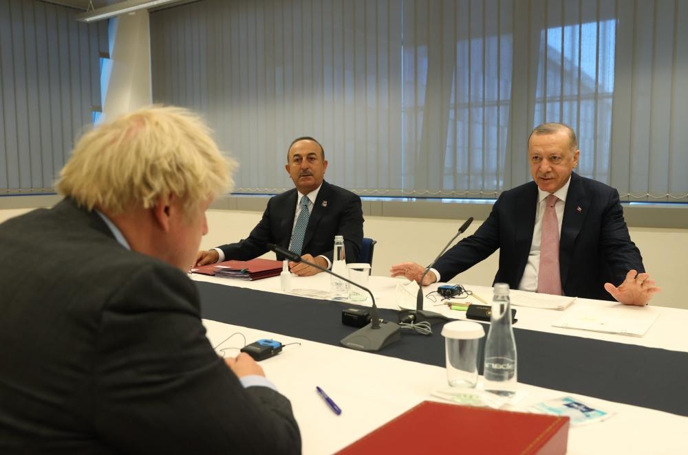 Başkan Erdoğan, NATO Karargahında liderlerle bir araya geldi galerisi resim 8