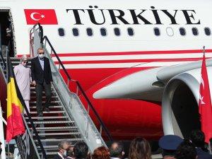 Başkan Erdoğan, NATO Karargahında liderlerle bir araya geldi