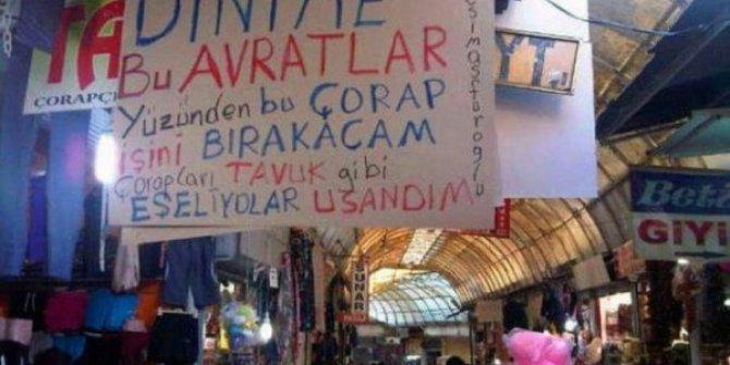 Ankara'da pazarda kaba üsluba ceza
