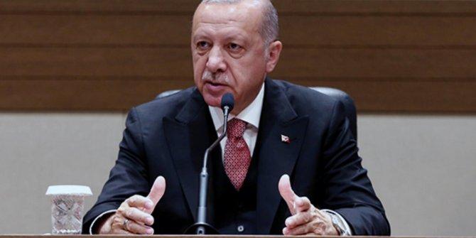 Cumhurbaşkanı Erdoğan'ın yeni yıl mesajında dikkat çeken detay