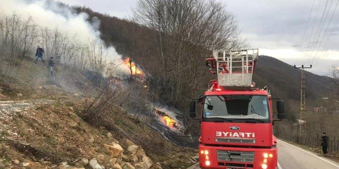 5 ilde 71 noktada yangın: 200 hektarlık ormanlık alan zarar gördü