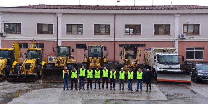 Kahramankazan'da kar seferberliği; ekipler hazır