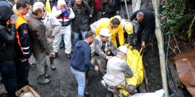 Zonguldak'ta kaçak ocakta patlama
