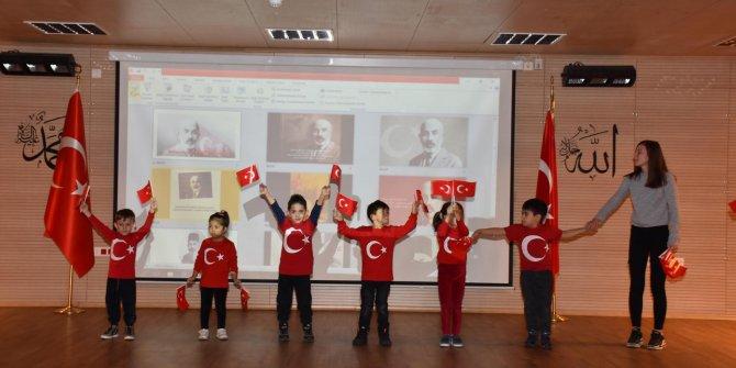 Kızılcahamam'da Milli Şair Mehmet Akif Ersoy anıldı