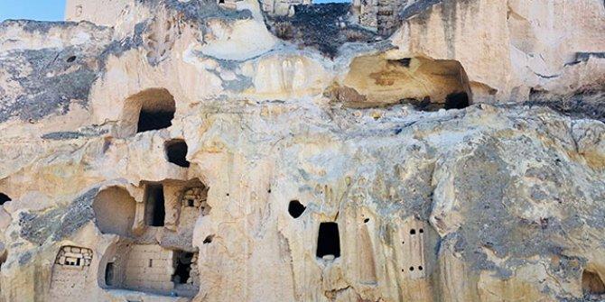 40 odalı mağara ev, 2 milyon 750 bin TL'ye sahibini bekliyor