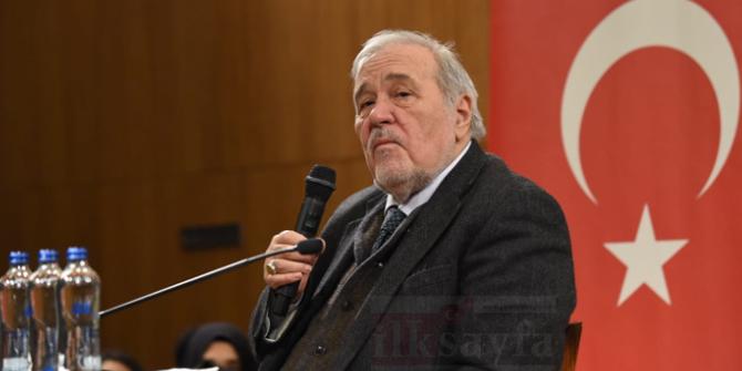 Prof. Dr. İlber Ortaylı: Tarihi dokuya aykırı binalar Ulus'u ve Kale'yi gölgeliyor