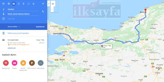 İstanbul Bartın arası kaç km? İstanbul Bartın arası kaç saat? İstanbul Bartın Yol Tarifi, İstanbul Bartın Otobüs Bileti Fiyatları...
