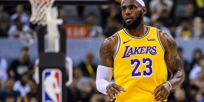 LeBron James NBA tarihine geçti
