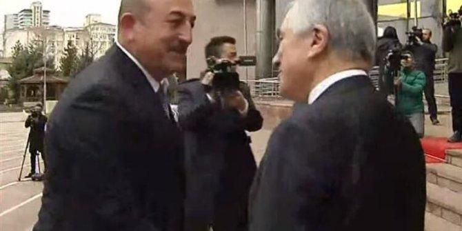 Dışişleri Bakanı Çavuşoğlu'ndan CHP'yi ziyareti sonrası açıklama