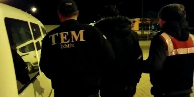 İzmir'de DEAŞ operasyonu: 8 şüpheli örgütsel dokümanlarla yakalandı