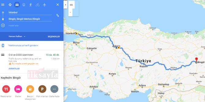 İstanbul Bingöl arası kaç km? İstanbul Bingöl arası kaç saat? İstanbul Bingöl Yol Tarifi, İstanbul Bingöl Otobüs Bileti Fiyatları...