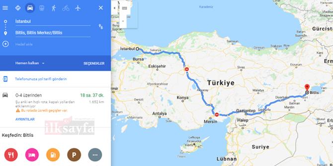 İstanbul Bitlis arası kaç km? İstanbul Bitlis arası kaç saat? İstanbul Bitlis Yol Tarifi, İstanbul Bitlis Otobüs Bileti Fiyatları...