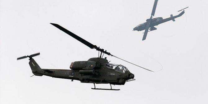 Tayvan'da askeri helikopter düştü: Çok sayıda ölü var