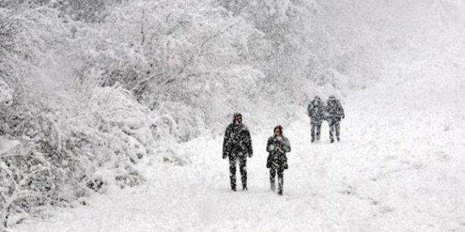 Eskişehir'de eğitime kar engeli
