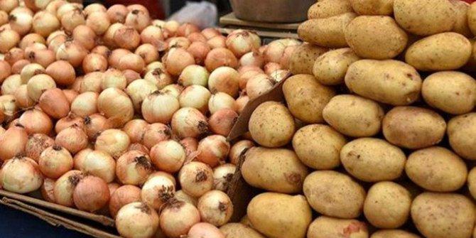 Patates ve kuru soğan satışına kısıtlama getirildi