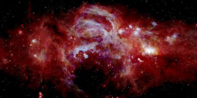 Samanyolu Galaksisi'nin merkezi görüntülendi