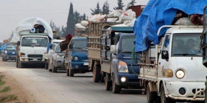 İdlib'te göç devam ediyor: Sayı 367 bine ulaştı