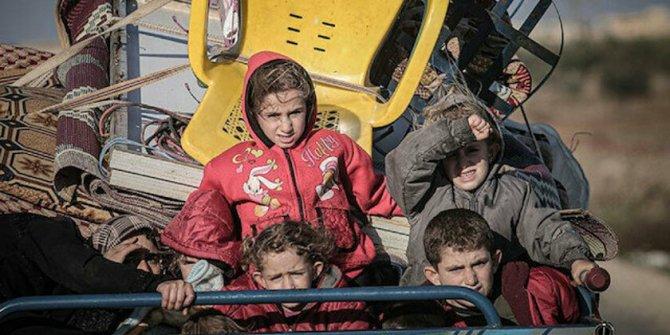 İdlib'den Türkiye sınırı yakınına 31 bin sivil daha göç etti