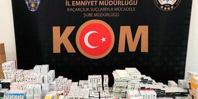 Ankara'da PKK'ya ilaç operasyonu