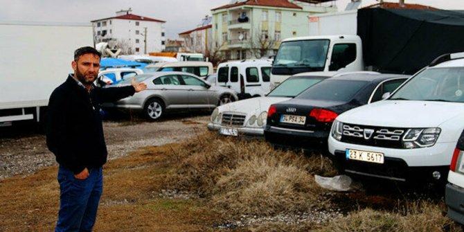 Parkta çürüyorlar: Otopark yetkilileri yasal düzenleme bekliyor
