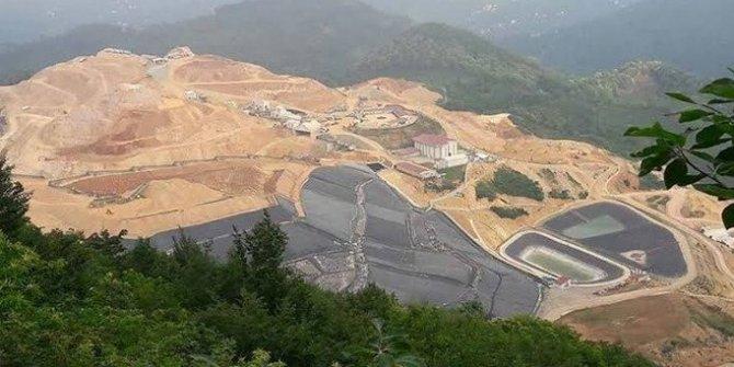 Fatsa-Ünye'deki altın madeninde siyanür kullanılıyor