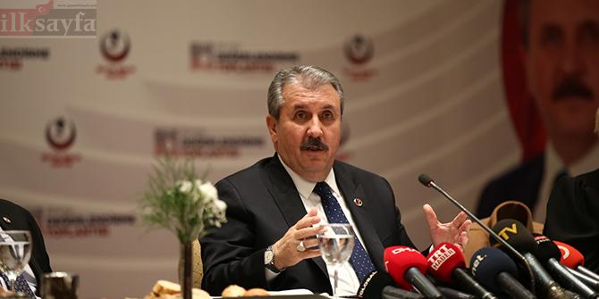 Mustafa Destici'den şok iddia: Türkiye'ye göç komplosu yapılıyor